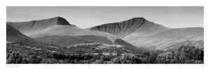Brecon Beacons, Pen y Fan, Cordn Ddu, Cribyn, Fan y Big
