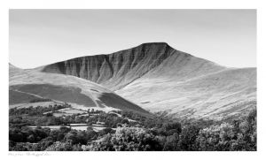 Brecon Beacons, Pen y Fan, Cribyn, Images Ian Nicholson
