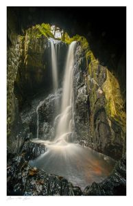 Cavern Cascade images, Hafod Estate