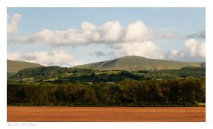 Hay on Wye, Black Mountains, Lord Herefords Knob, Twmpa